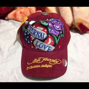 ED HARDY Vintage Eternal Love TATTOO MESH Cap Hat
